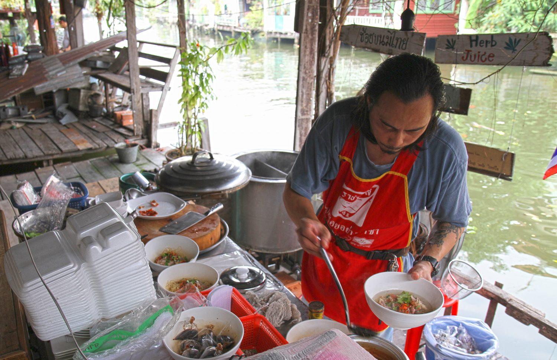 Petit restaurant sympa Bangkok