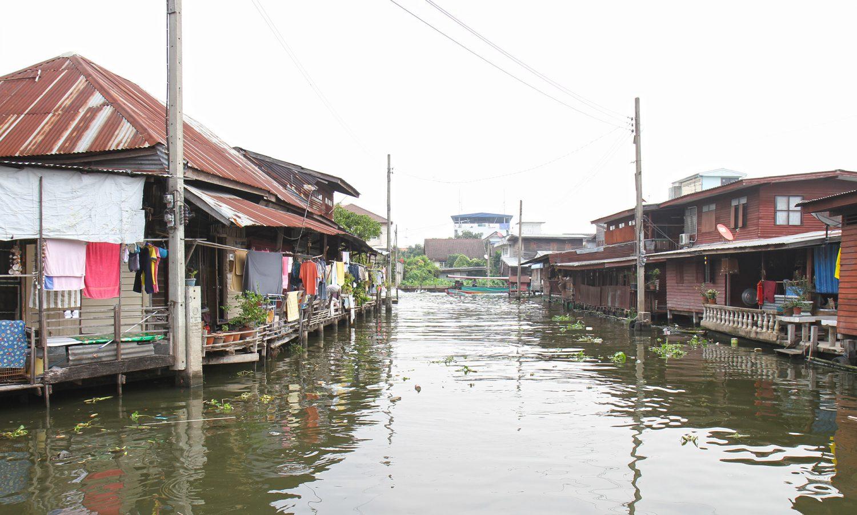 Balade en bateau long tail à Bangkok