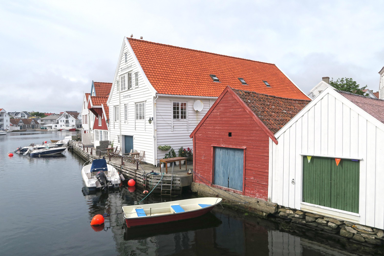 Skudeneshavn en Norvège