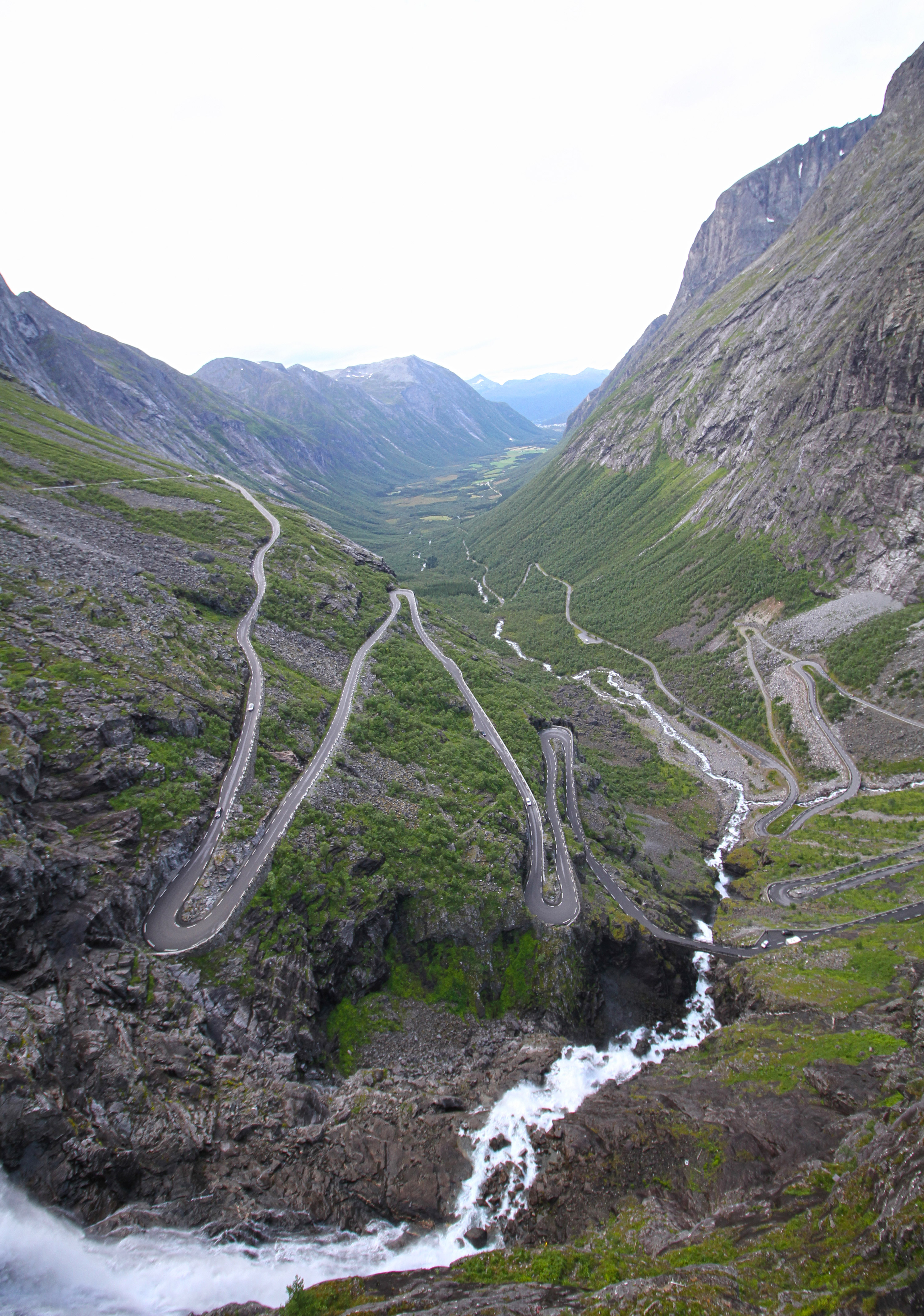 route des trolls Norvège