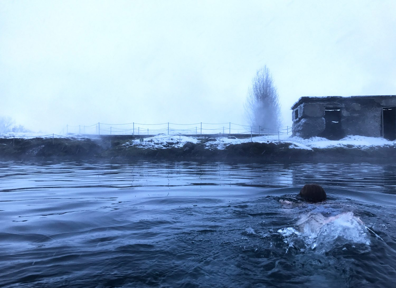 secret lagoon à fludir en islande