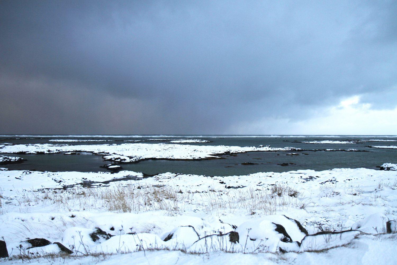 La mer en islande