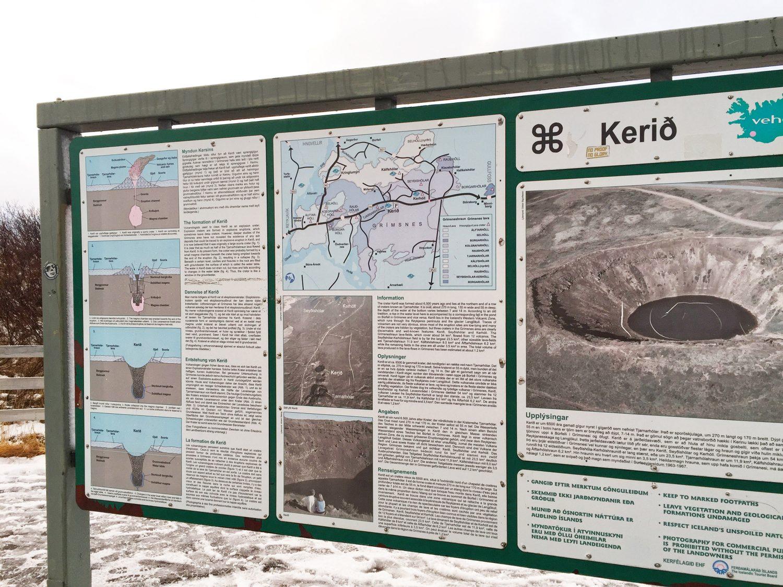 cratère kérid en islande