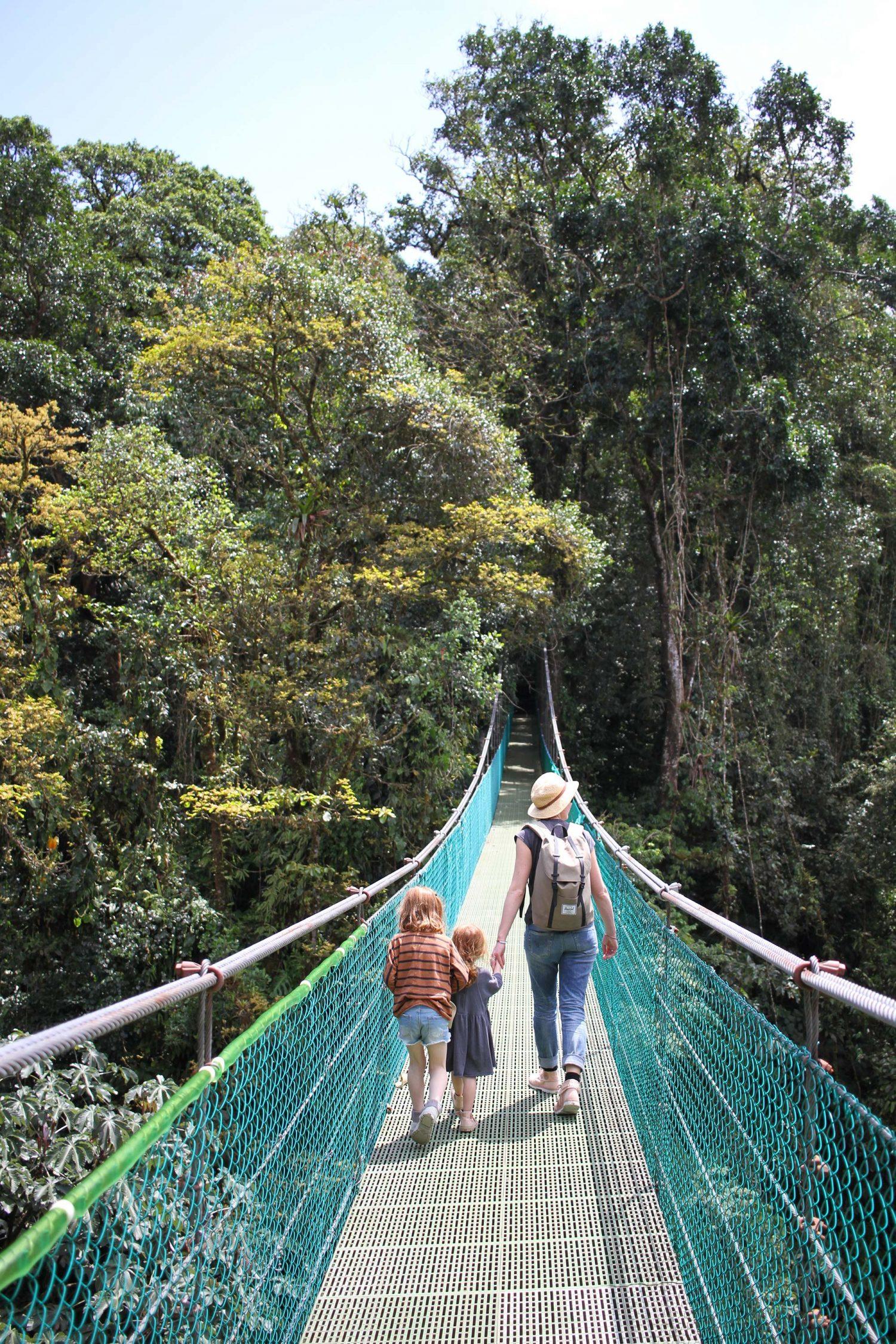 ponts suspendus arenal costa rica