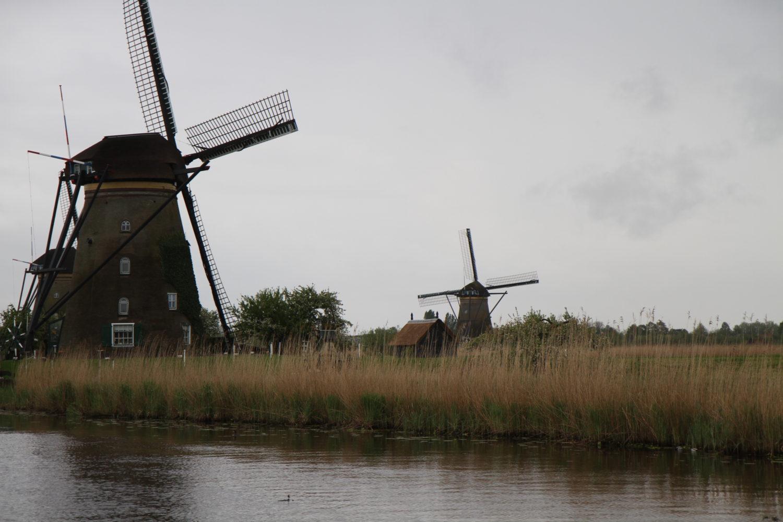Kinderdijk les moulins
