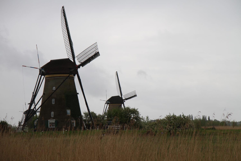 les moulins aux pays bas