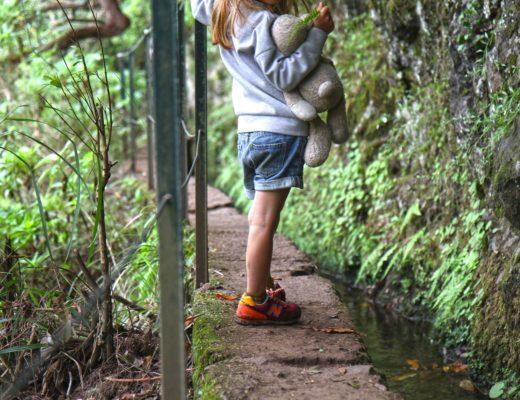 randonnée à madère avec des enfants