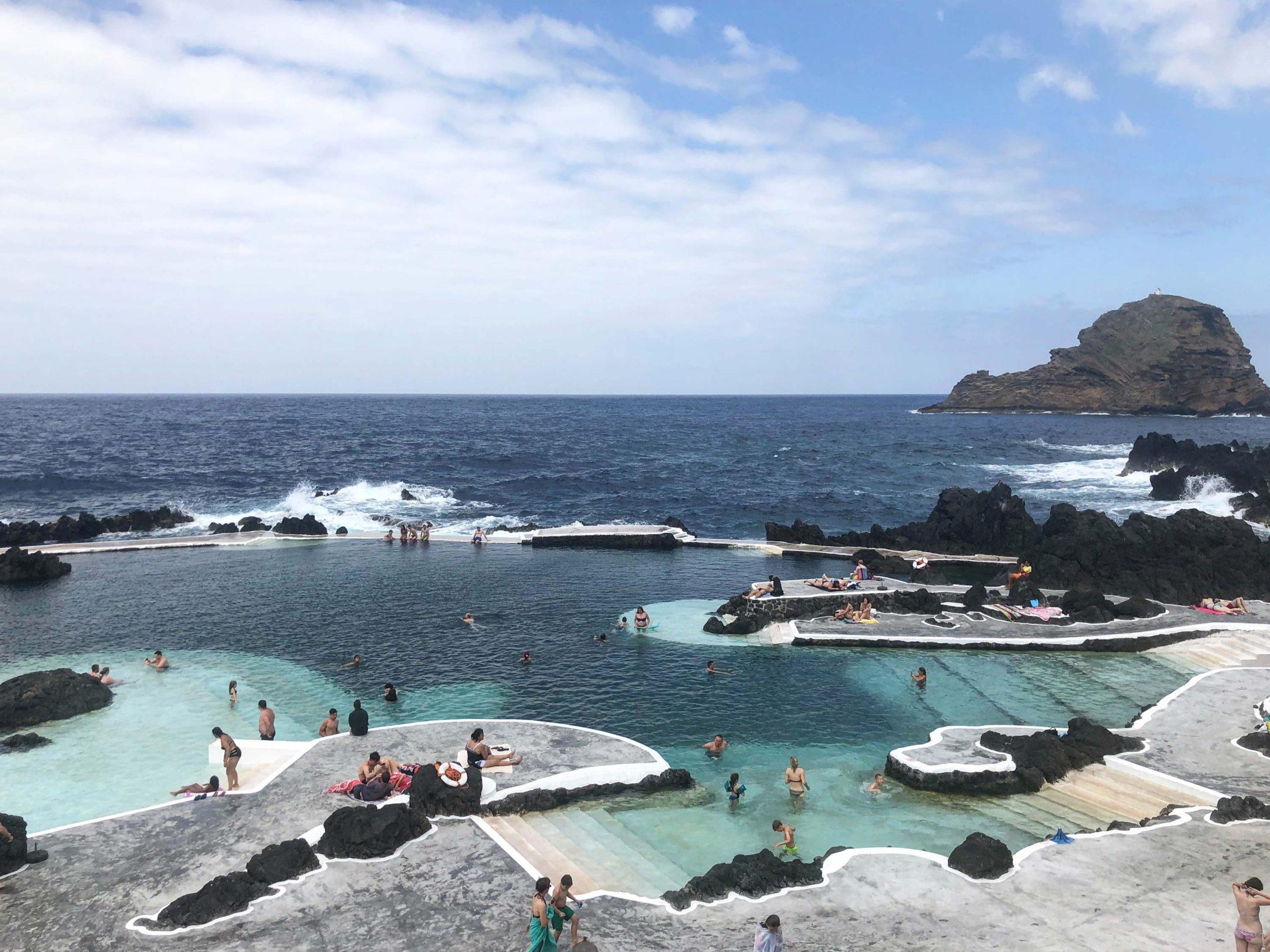 piscines de Porto Moniz, Madère