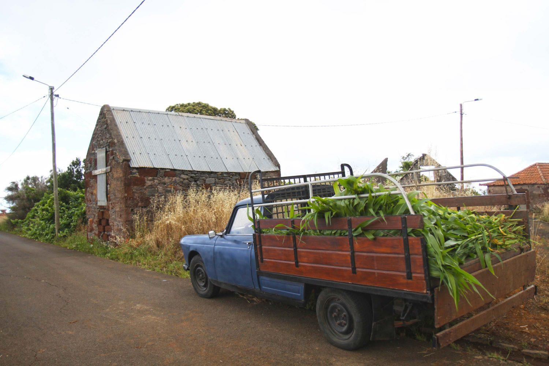 ancienne voiture à madère