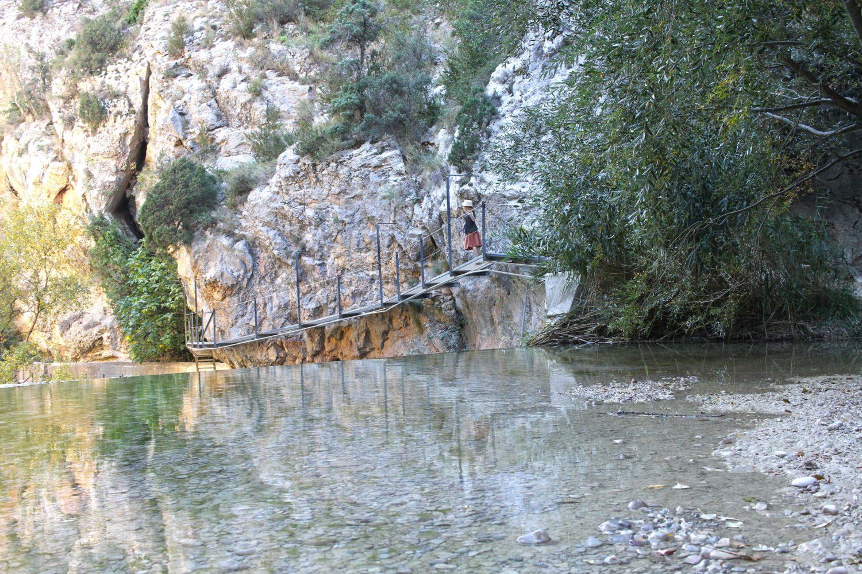 passerelle rio vero Alquezar