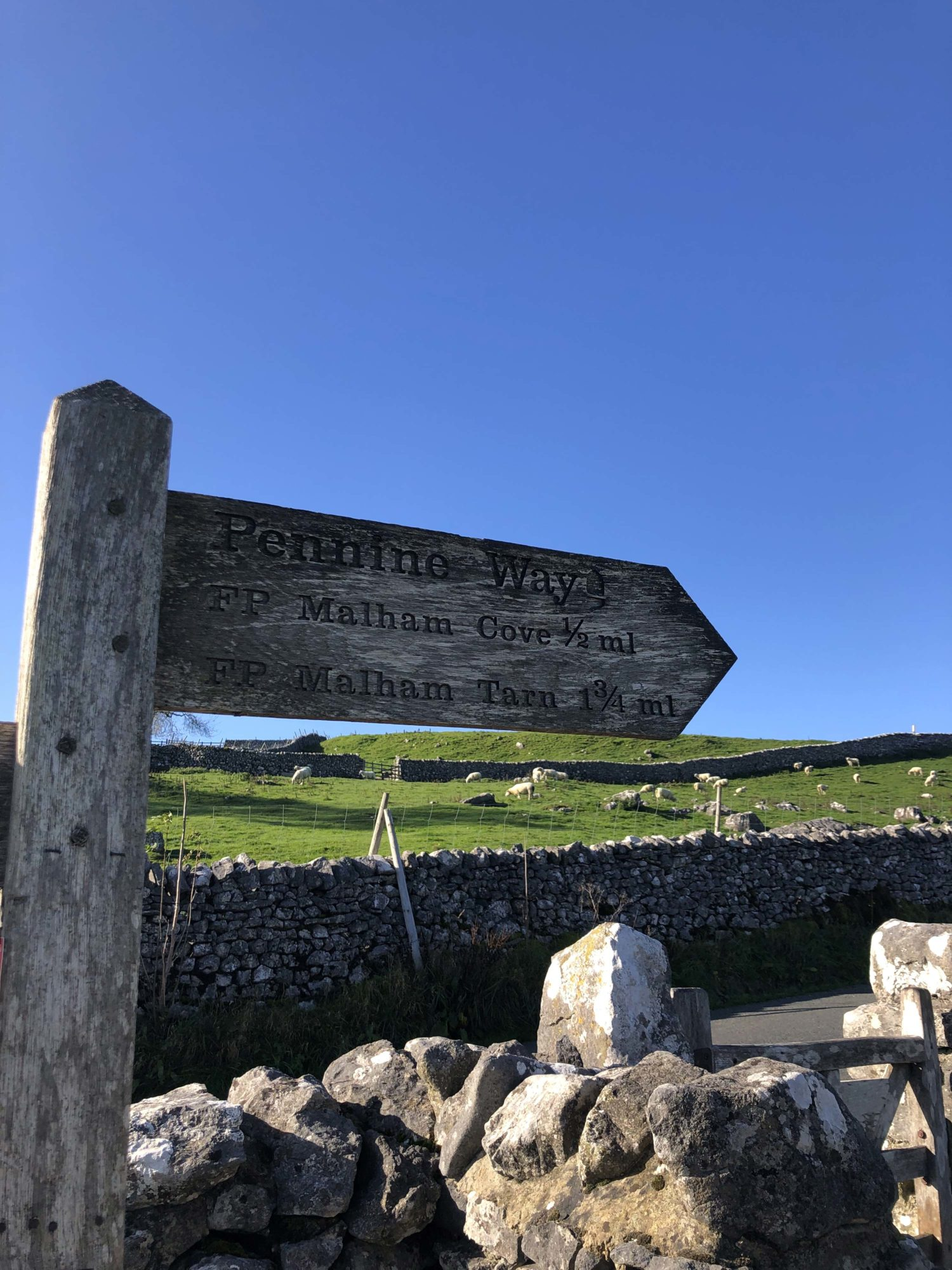 Yorkshire dales public footpaths