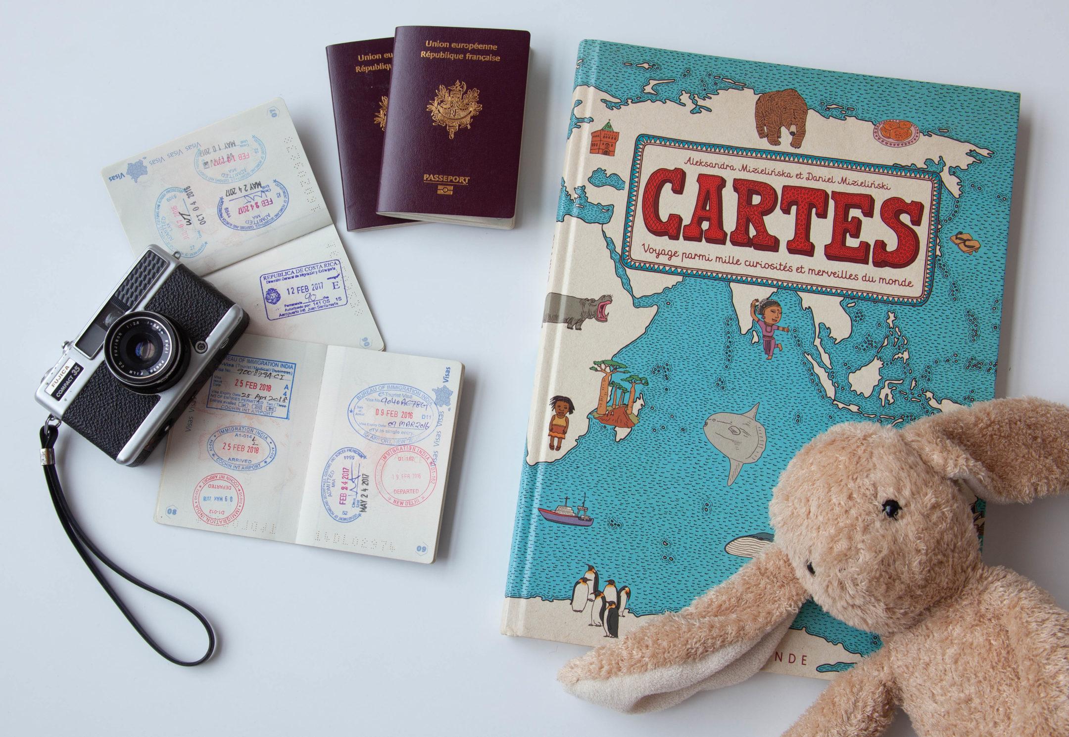 voyager avec livret famille pour bébé