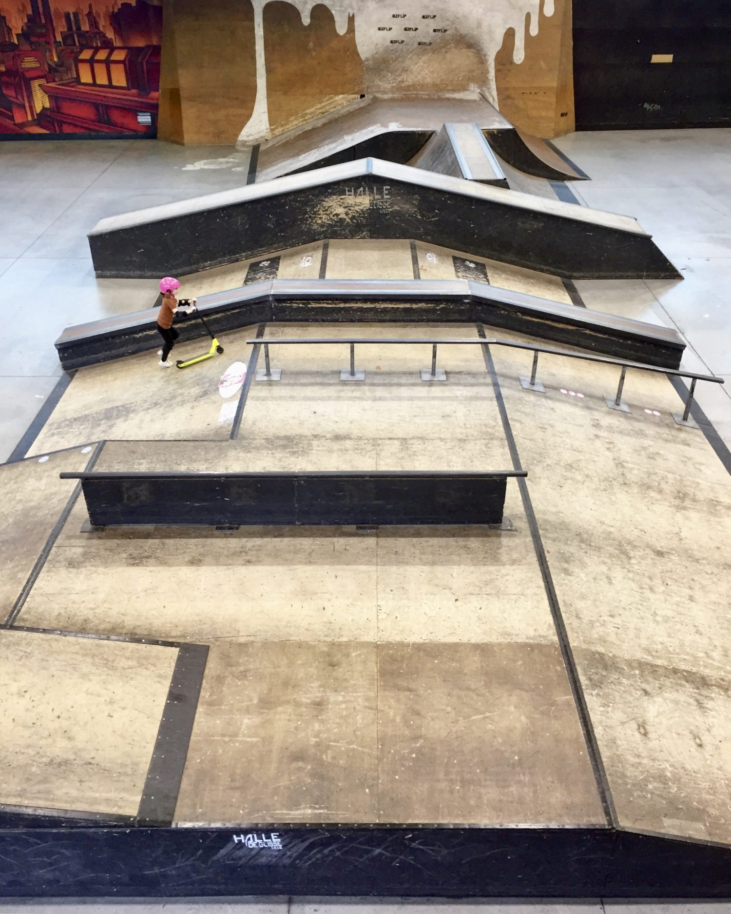 skate park de Lille