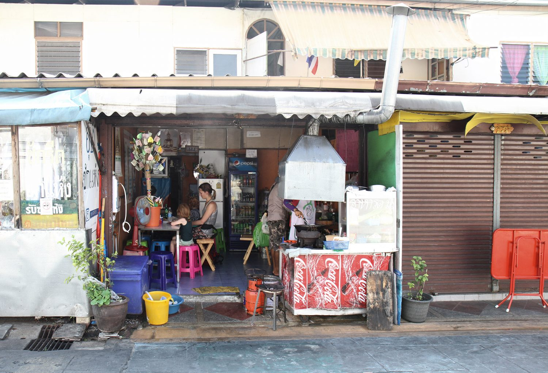 Restaurant chez l'habitant à Bangkok