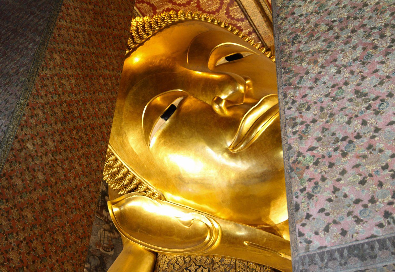Buddha couché Bangkok