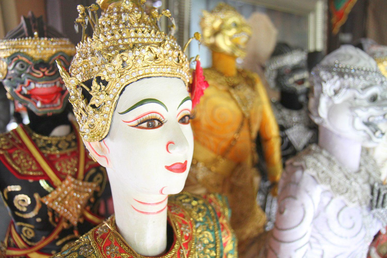 Spectacle de marionnettes à Bangkok