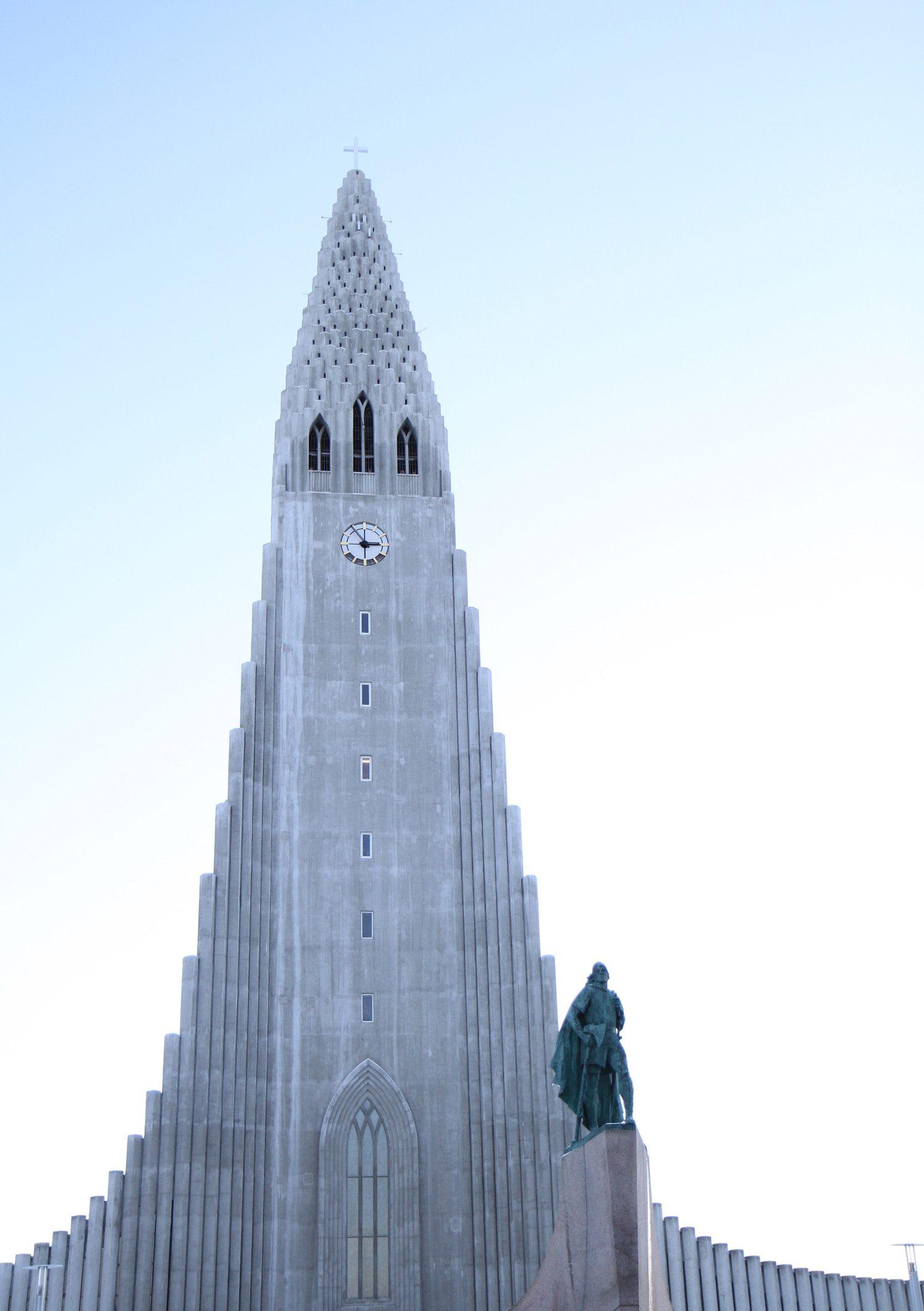 église de hallgrimskirkja à Reykjavik