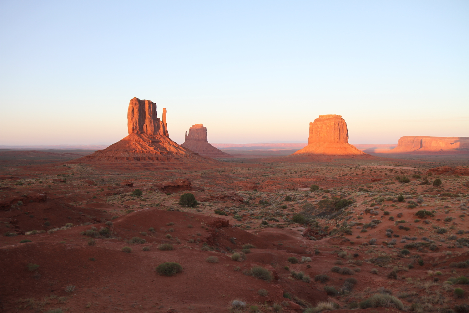 monument valley the view