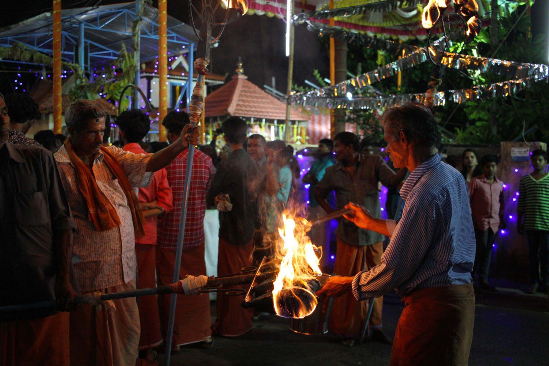 cochin fête hindou
