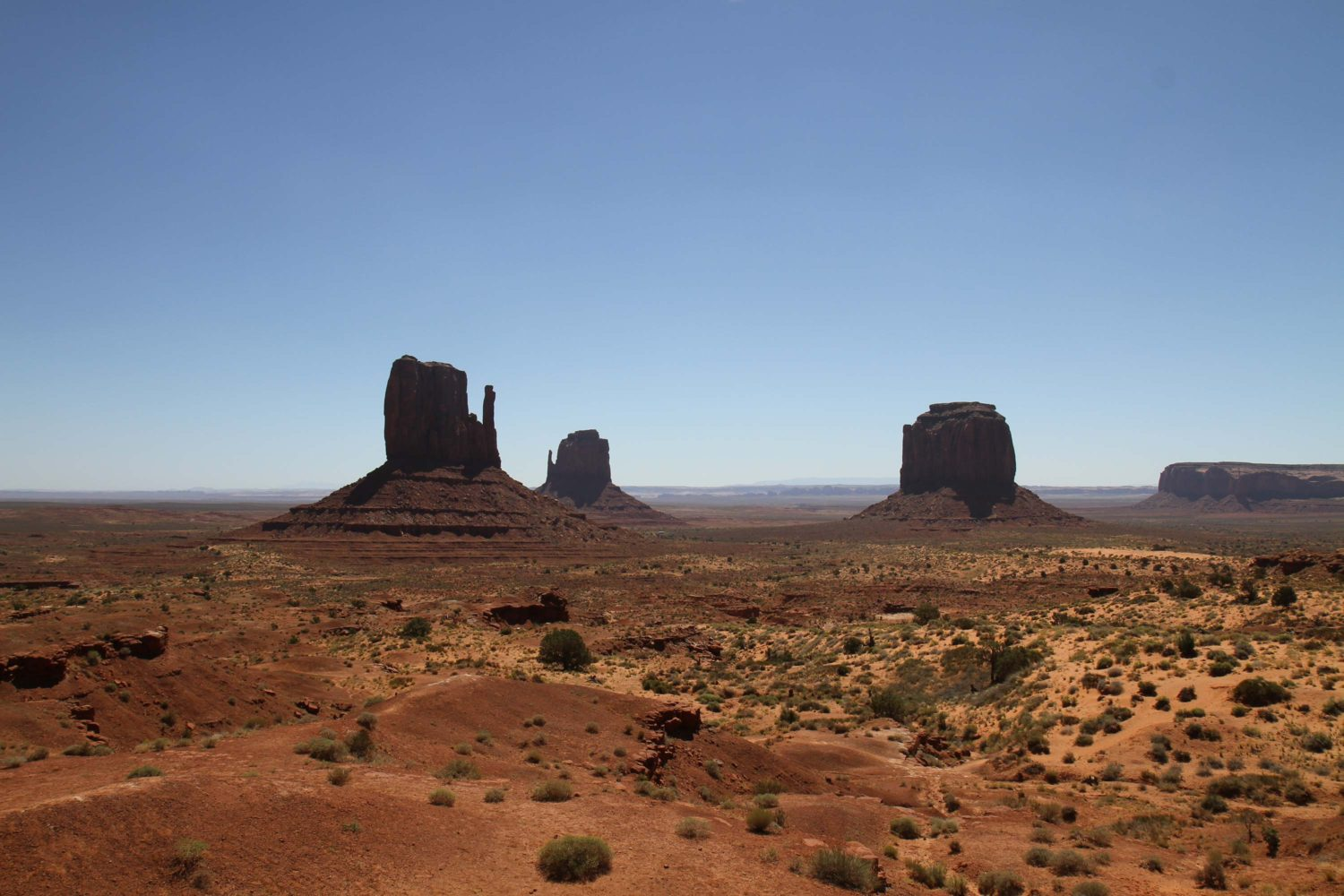 monument valley cabins at the view