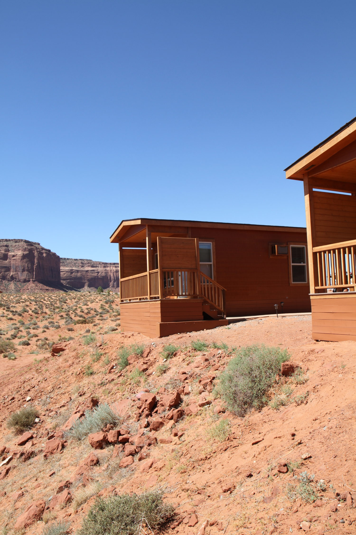 cabin at the view monument valley