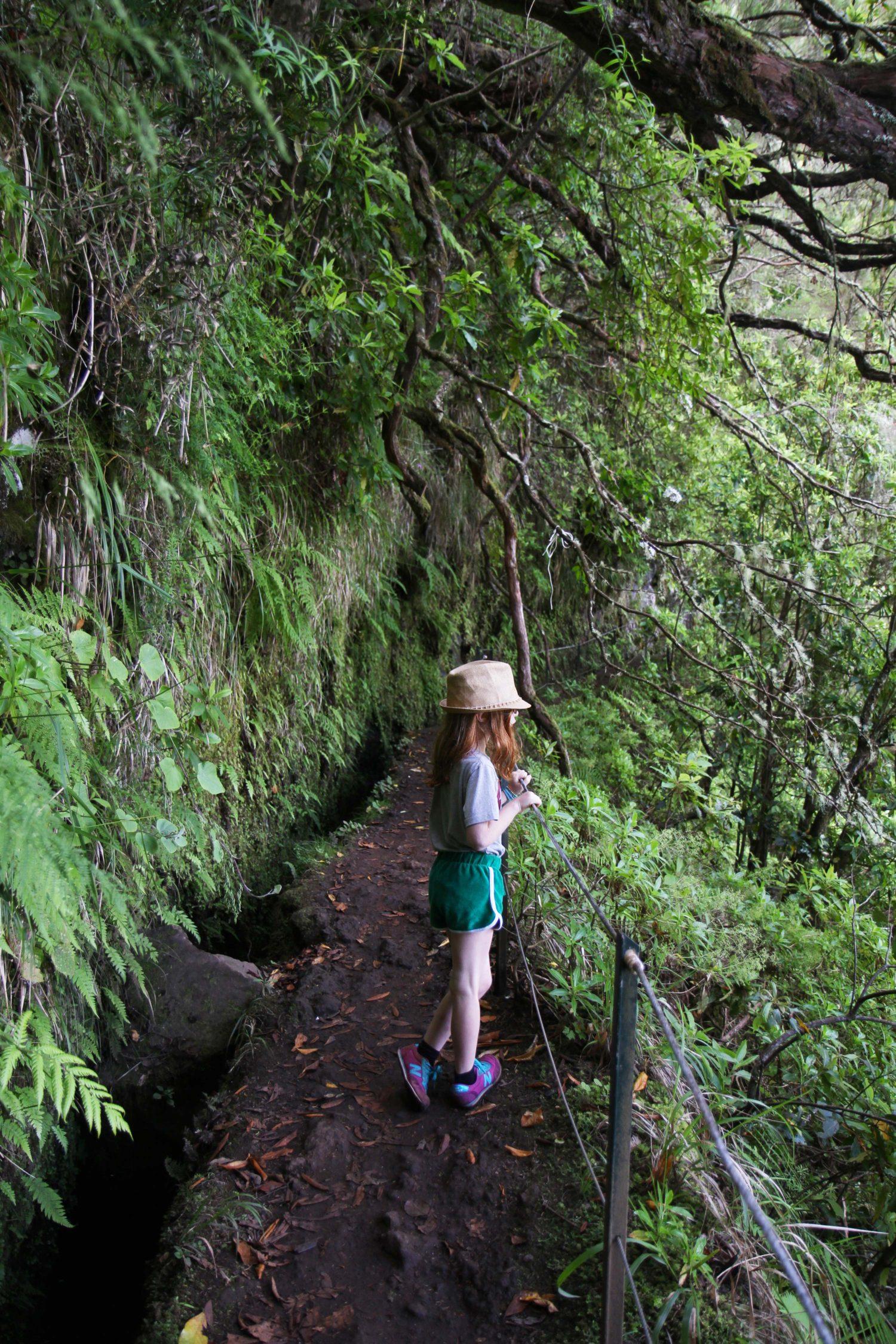 Madère randonnée du Caldeirao Verde