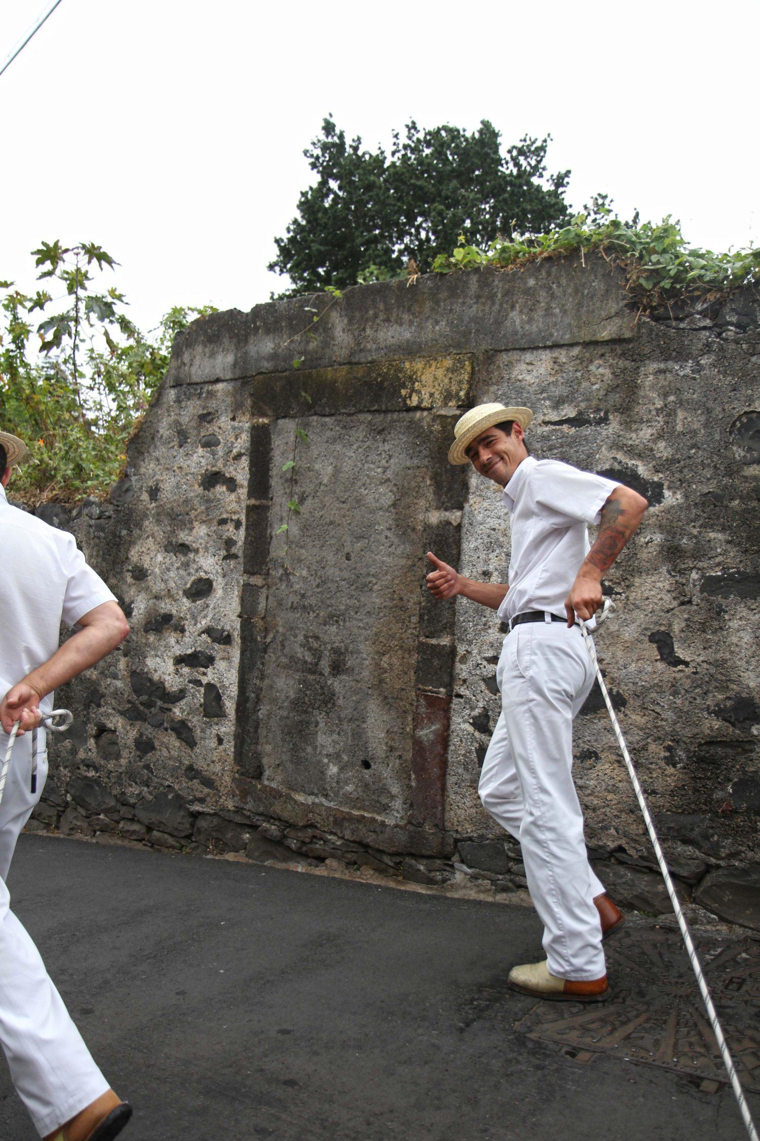 Funchal, traineaux en osier