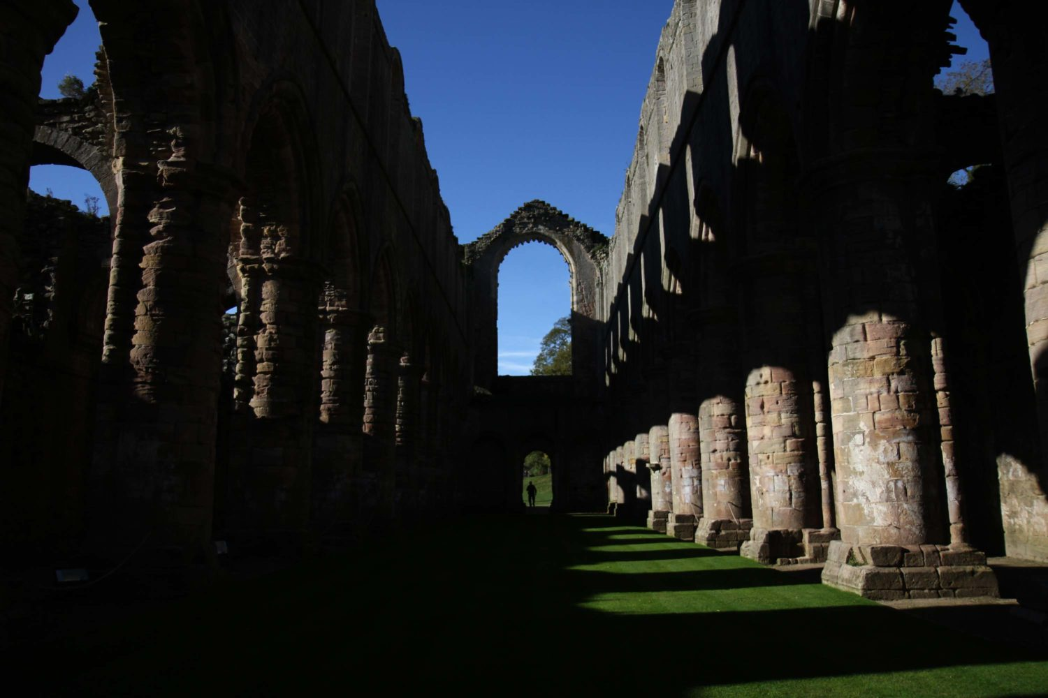 fountains abbey Yorkshire dales
