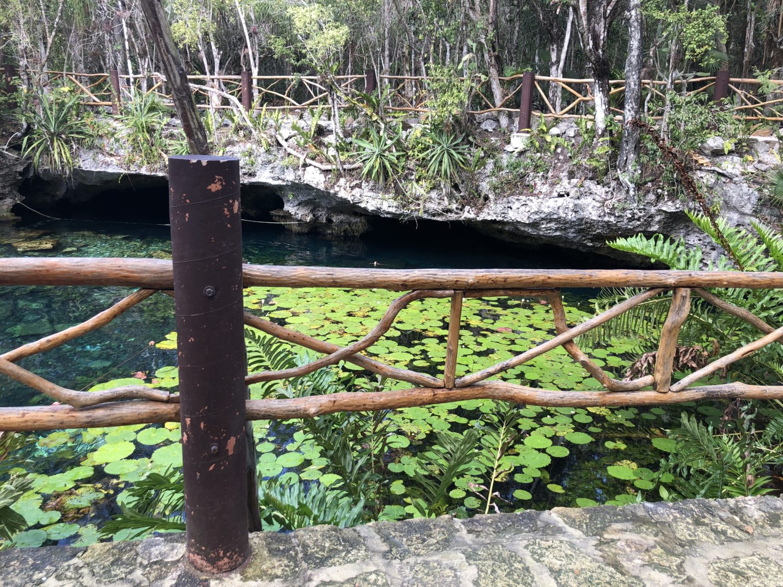 cénote Nicte-Ha Yucatan