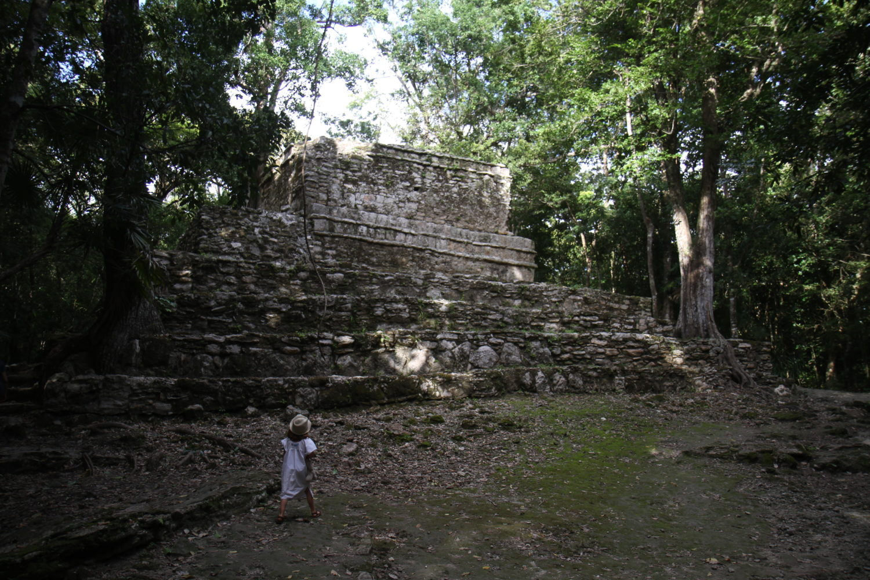 muyil maya ruinas