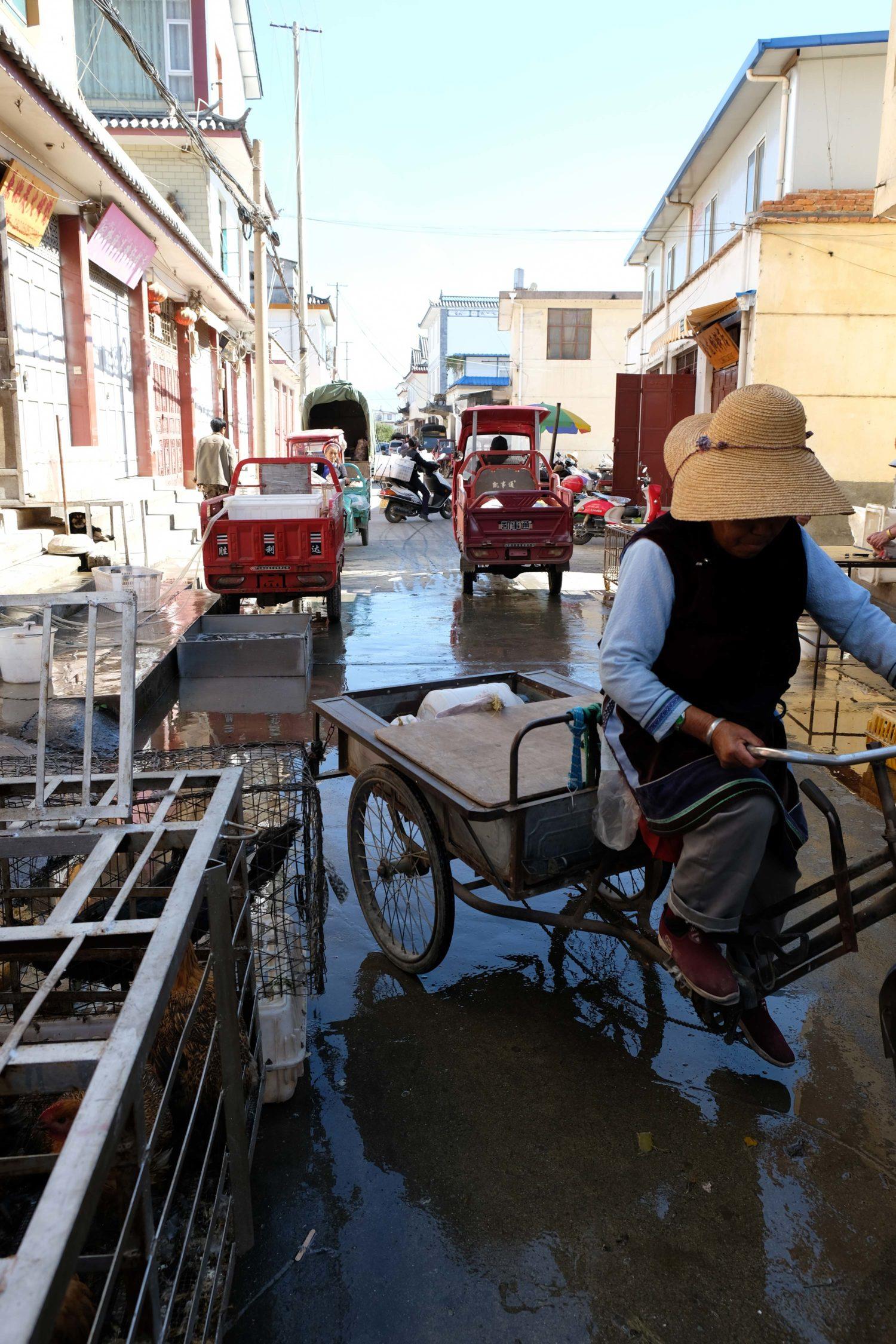 Dali Yunnan Chine Xizhouzhen