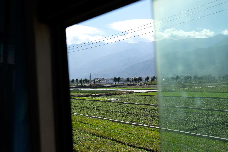 Dali Yunnan Chine bus