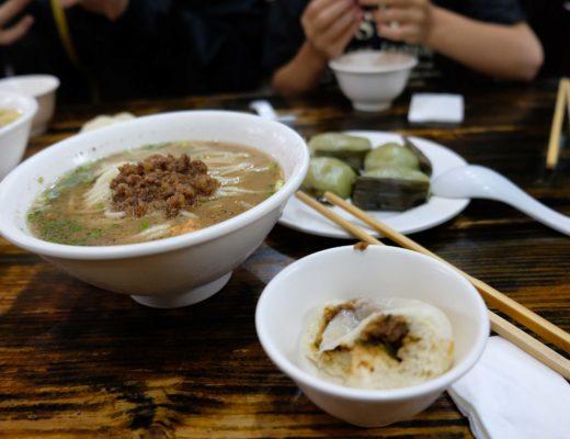 repas en chine soupe de nouilles