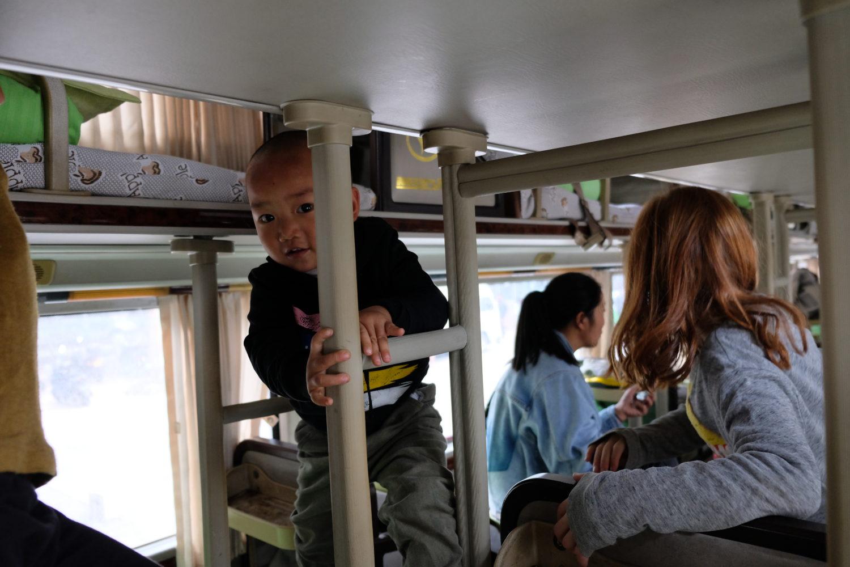bus de nuit en chine