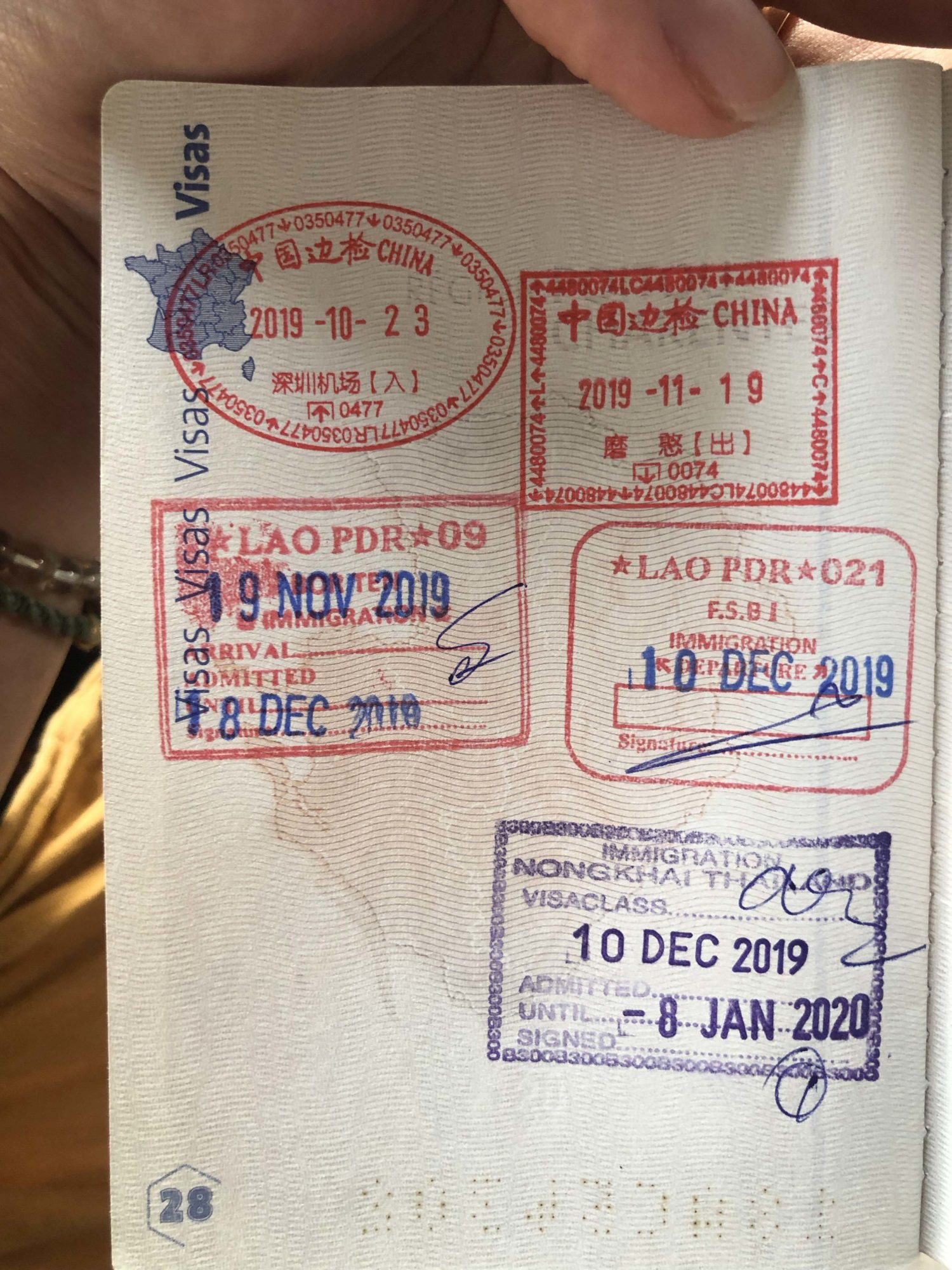 frontière Laos Thaïlande