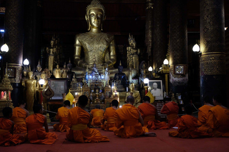 Wat May Souvannapoumaram Luang Prabang Laos
