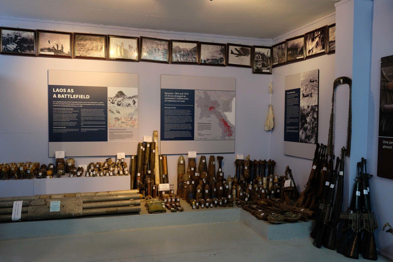 musée UXO Luang Prabang Laos