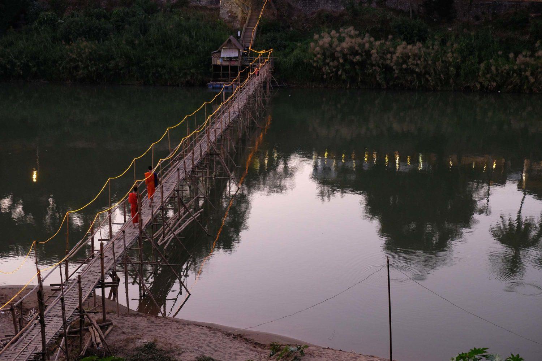 pont de bambou Luang prabang