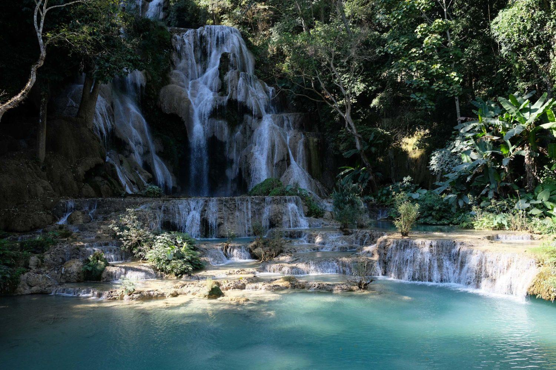 Kuang si cascades Luang Prabang Laos