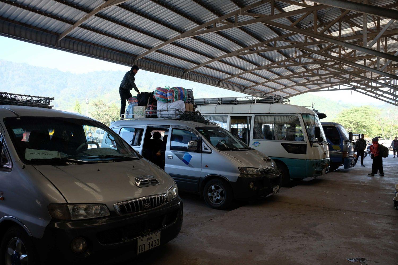 Bus Oudomxai Nong Khiaw