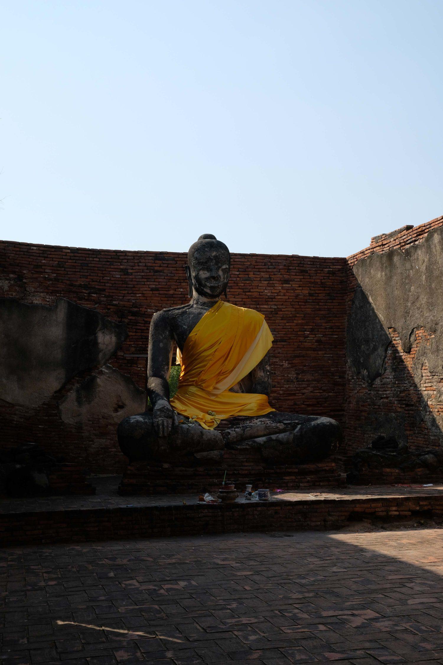 Wat Worachettharam Ayutthaya