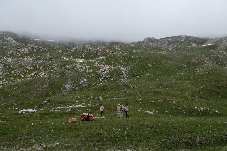 Parc national de la Vanoise randonnée avec des enfants